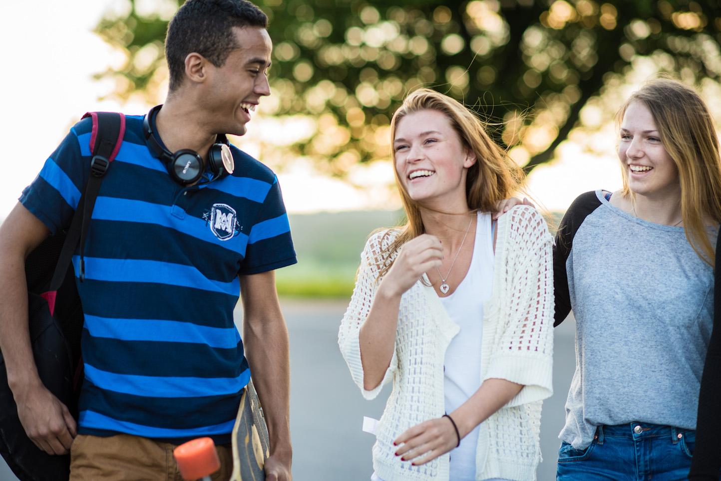 Elever ved Gjennestad vgs